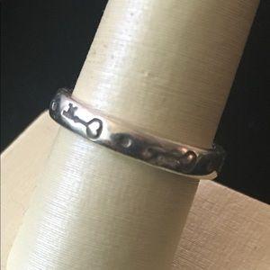 """James Avery """"Key to My Heart"""" ring"""